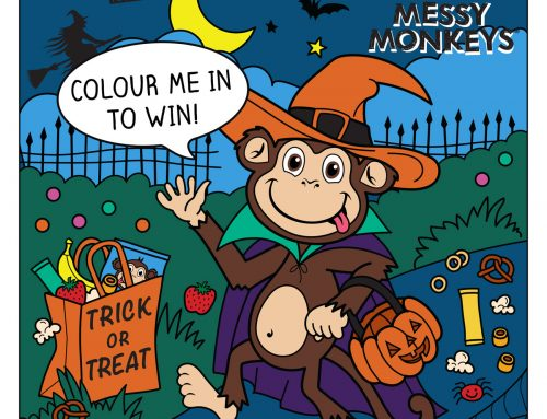 MESSY MONKEYS HAS GONE SPOOKY THIS HALLOWEEN