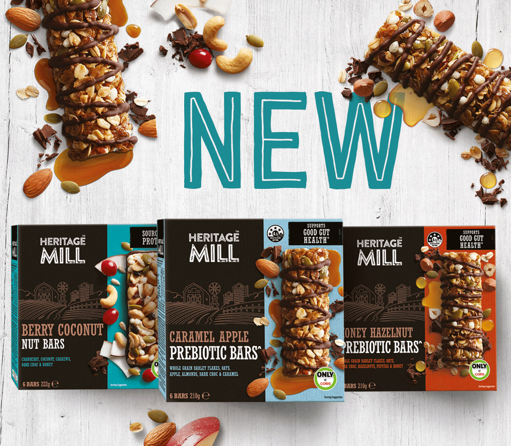 NEW Heritage Mill bars